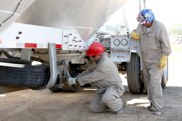 Frac Sand Crews
