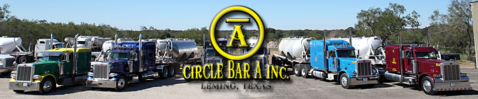 Circle Bar A - The Best Trucking Company To Handle Your Frac Sand Hauling Needs!