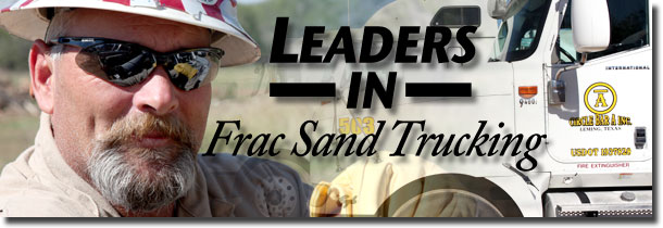 Circle Bar A Inc. - Leaders In Frac Sand Trucking